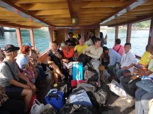 De Ferry naar Koh Samet