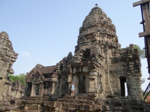 Onbekende tempel buiten Angkor