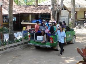 Lokaal vervoer op Koh Samet
