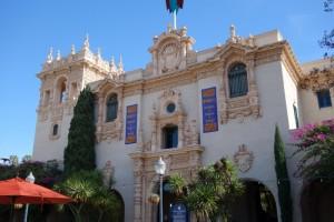 Museum in Balboa park