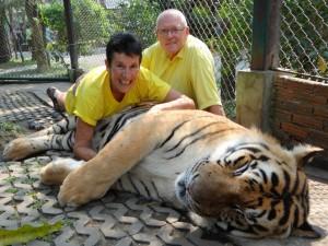 Samen met de tijger, Ja gezellig !