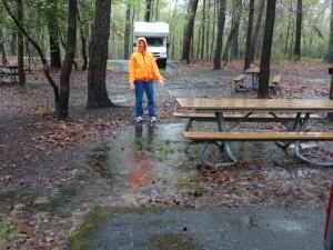 "Stromende regen in Greenbelt  ""Nat"" Park"