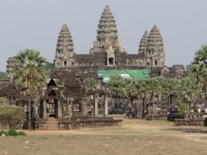 Binnenplein Angkor tempel