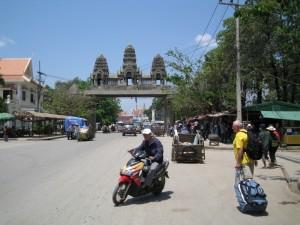 Grensovergang Cambodia-Thailand