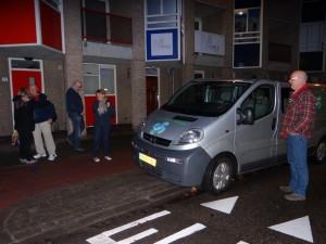 Op weg naar Schiphol