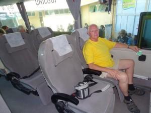 Met de VIP bus naar Chiang Rai