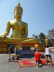 De Big Buddha waakt over Pattaya
