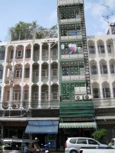 Een extra hoog huis in Bangkok