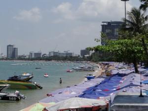 Waar is het strand van Pattaya ???