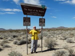 Dwars door de Mojave woestijn