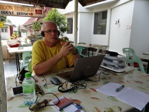 Kontakt met de SOS alarmcentrale