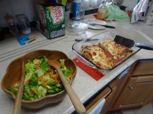 Halibut en salade, mmmm....