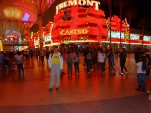 De Fremont Experience in Downtown Las Vegas