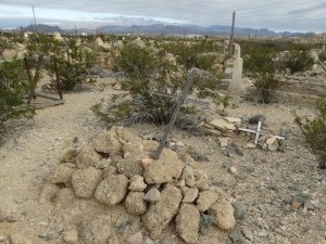 Ghost Town Cemetary Terlingua