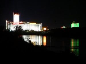 Nevada casino's bij nacht