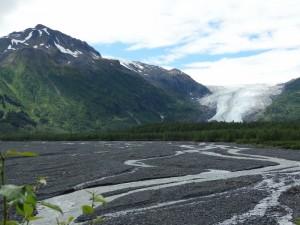 De Exit glacier