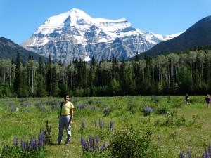 Mount Robson, de hoogste berg van Canada