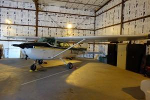 Prive vliegtuig van de Nationaal Park piloot