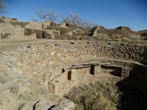 De Aztec Ruines zijn in een goede staat