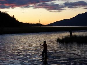 Salmon Fishing in Hope