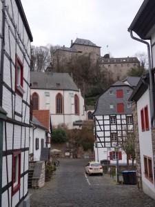 Vakwerkhuizen in Blankenheim