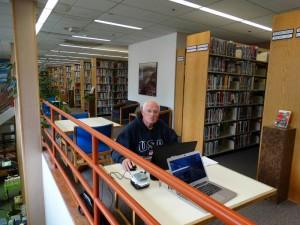 De bibliotheek in Valdez