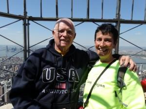 Op het Empire State Building