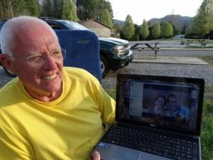 Mike en Susan op de Skype