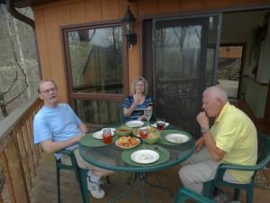 Eten bij Mike en Dee