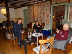 Bij Esme en Cor in Frankrijk