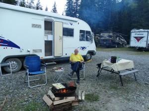 Run-A-Muck campground in Hyder