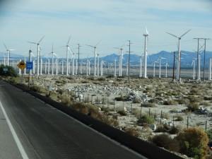 Windmolens in overvloed
