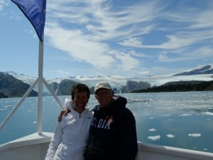 De Tidal Glacier in de Prince William Sound