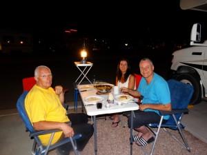 Avond eten bij Arizona Charlie's