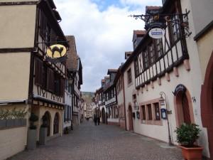 De oude straatjes in Neustadt aan de Moezel