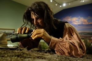 Levensechte figuren in het Buffalo Bill Museum