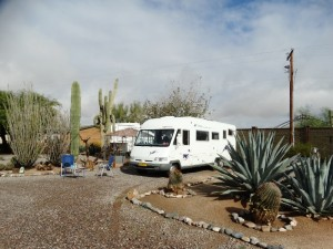 Rancho Sonora 70+ campground