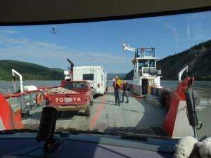 "Gratis ""cruise"" over de Yukon rivier"
