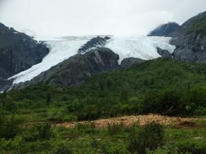 Gletschers in overvloed in Alaska