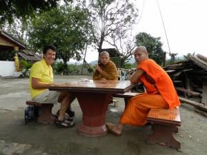 In gesprek met monniken