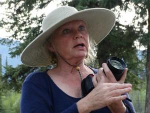 Judy, de Milepost Lady