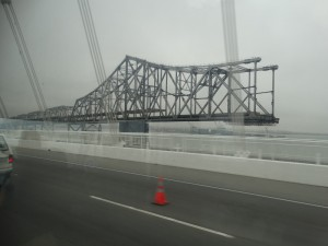 Waar is de rest van de brug ?