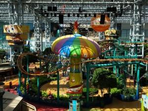 De attracties in de Mall of America