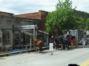 "De ""Postkoets"" In Virginia City"
