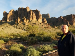 Wandeling in Lost Dutchman campground