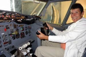 Co-Pilot in de Boeing 737