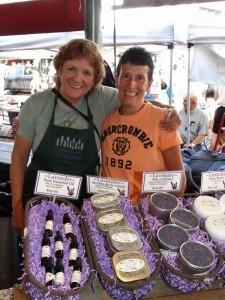 Lavendel stalletje in Pike Public Market