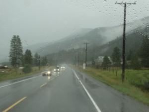 Ook regen komt soms voor