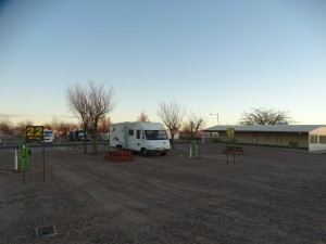 Campground in Holbrook