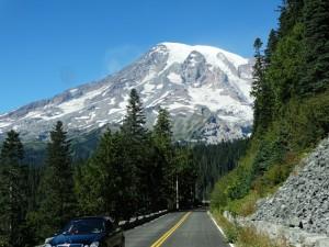 Zich op Mount Rainier